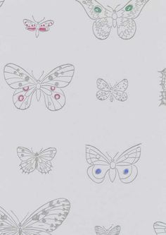Apollo by Rut Bryk. Modern Ceramics, Fabric Wallpaper, Apollo, Butterfly, Floors, House Ideas, Walls, Painting, Graphics