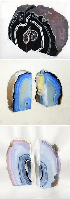 cecelia phillips - geode paintings