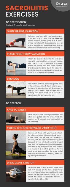 Sacroiliitis exercises - Dr. Axe