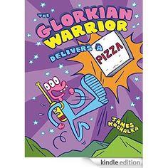 The Glorkian Warrior Delivers a Pizza eBook: James Kochalka
