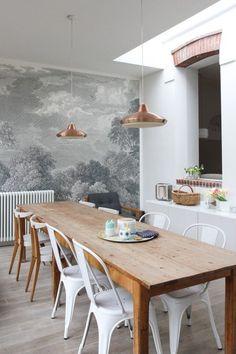 """La maison de Karine et Jérôme Clynck allias, créateurs de la marque """"Mr & Mrs Clynk"""" est simple, mais regorge de jolies idées pleines de fantaisie."""