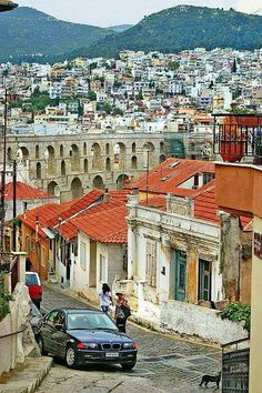 City of Kavala, Grecia Santorini, Mykonos, The Places Youll Go, Places To Visit, Places In Greece, Europe, Thessaloniki, Paradis, Macedonia