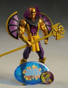 DCUC Starman, Validus, OMAC, Pharaoh action figure by Mattel
