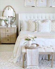 Home Interior Bedroom .Home Interior Bedroom Master Bedroom Design, Dream Bedroom, Home Decor Bedroom, Modern Bedroom, Bedroom Ideas, Bedroom Inspo, White Bedrooms, White Bedroom Decor, Neutral Bedrooms