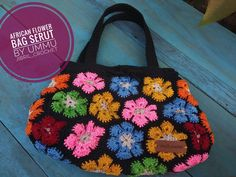 #africanflowerbag #Africanflowerbagcrochet #crochetbyummujibril