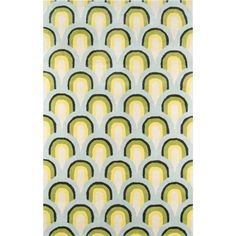 Novogratz Delmar Geometric Handmade Tufted Wool Blue/Green Area Rug Rug Size: Rectangle x Contemporary Area Rugs, Modern Area Rugs, Contemporary Design, Wool Area Rugs, Blue Area Rugs, Wool Rugs, Accent Rugs, Rugs Online, Rug Size