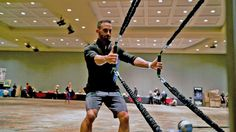 MoveStrong Centerline Resistance Bands. Oversize handle and dual anchor point strength bands
