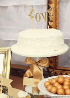 Gold Party Decor – Ideas For Milestone Celebrations — Celebrations at Home