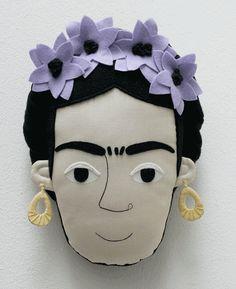 @Nexeida Norman Norman Norman Norman  Frida Kahlo pillow face