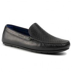 Mocasini TOMMY HILFIGER - Seasonal Leather Driver FM0FM02607 Black BDS - Mocasini - Pantofi - Bărbați | epantofi.ro Tommy Hilfiger, Driver, Men Dress, Dress Shoes, Loafers Men, Oxford Shoes, Seasons, Leather, Black