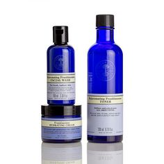 NYR Organic US - Essential Frankincense Collection Organic Beauty, Organic Skin Care, Natural Skin Care, Blue Bottle, Vodka Bottle, Facial Wash, Cleanse, Moisturizer, Essential Oils