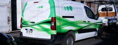 Desarrollo de producción gráfica y decoración para vehículo corporativo de Agencia Pincheira Vehicles, Rolling Stock, Vehicle