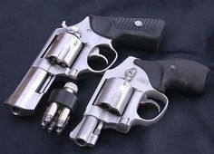 Ruger SP101 (357) short barrel. Lady's weapon of choice.