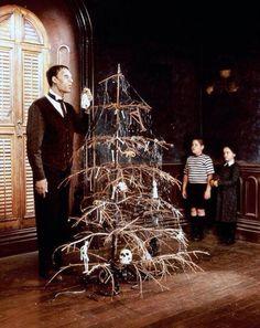 Addams family christmas