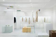 Beige concept store in Tokyo by Nendo