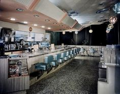 Skyway Hotel Coffee shop Los Angeles, CA Maynard Parker Photographer.