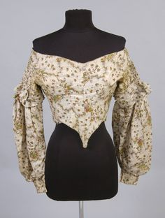 Philadelphia Museum of Art - Collections Object : Woman's Bodice. 1835-40