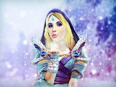 Emma Roberts Crystal Maiden (Dota 2) by eZeeD.deviantart.com on @DeviantArt
