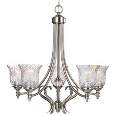 I pinned this Berlin Chandelier from the Sherwood Lighting event at Joss and Main!