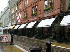 Covent Garden Hotel Awning Refurbishment