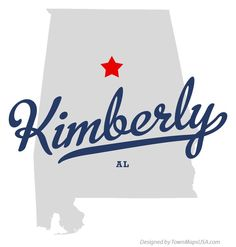 Map of Kimberly Alabama AL