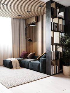 Home Living Room, Living Room Designs, Living Room Decor, Kitchen Living, Interior Design Games, Design Loft, Design Web, Appartement Design, Loft Style