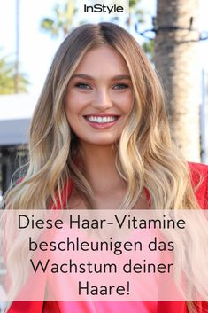 Dream Mane: These hair vitamins accelerate the growth of your hair! - Volume and length? These innovative hair vitamins help your hair grow. Dull Hair, Hair A, Grow Hair, Mane Hair, Trim Your Own Hair, Your Hair, Manado, Wedding Beauty, Hair Highlights