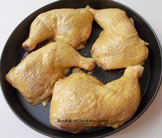 Pulpe de pui cu sos de mustar - Bunătăți din bucătăria Gicuței Turkey, Fish, Meat, Food, Turkey Country