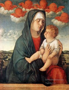 Madonna of the red angels - Giovanni Bellini