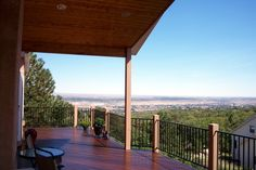 This is a beautiful deck for a home. I always wanted a deck but I had never considered building one on a hillside. This is exactly the set up I want for my home.