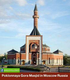 Beautiful Masjid in Russia