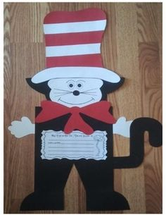 BIRTHDAY CAT WRITING CRAFTIVITY AND MORE... - TeachersPayTeachers.com