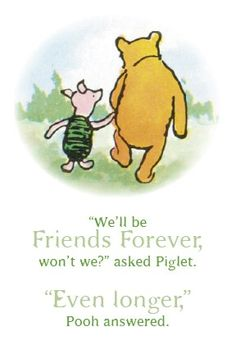 Ernest Shepherd Classic Pooh illustration & AA Milne quotes for baby shower