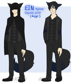 Ein Emerald Secret (Character Design) by ZayrenVie on DeviantArt