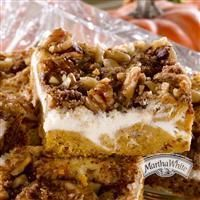 Pumpkin Cream Cheese Coffee Cake from Martha White® - use Foremost butter or margarine