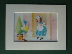 1953 Vintage Enid Blyton Print Fairy Tale by PrimrosePrints