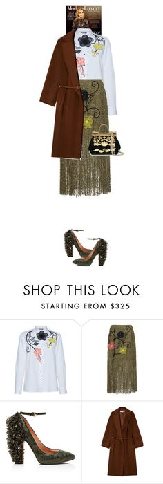 """""""Ascella #7263"""" by canlui ❤ liked on Polyvore featuring Rochas, Gérard Darel and Dolce&Gabbana"""