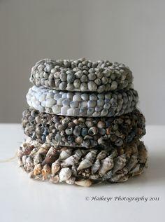 whorls of shells