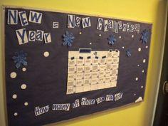 New Year, New Challenge Bulletin Board