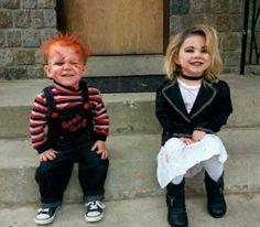 Disfraces infantiles originales - Disfraz de Chucky con su novia