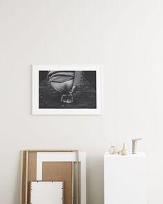 Malene by Emil Monty Freddie | Poster from theposterclub.com Trendy art print. Minimal print. #monochromatic #artprints