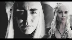 Wanna hear your beating heart tonight ✘ Thranduil/Daenerys