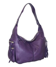 Take a look at this Viola Madison Avenue Hobo Bag by Nino Bossi Handbags on #zulily today!