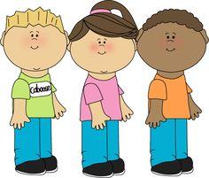 Caboose Clip Art | Caboose Classroom Job Clip Art Image - school children standing in ...