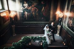 A Suzanne Neville Gown for a Glamorous Winter Wedding at Fetcham Park   Love My Dress® UK Wedding Blog