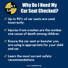 Car Seat Safety why get a seat check