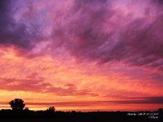 Oklahoma sunrise...