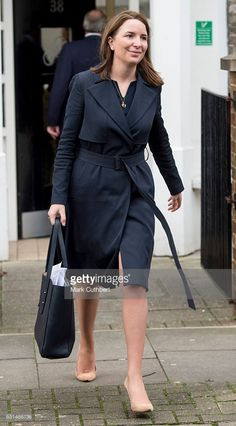Rebecca Deacon during a visit by Catherine, Duchess of Cambridge to the Anna Freud Centre on January 11, 2017 in London, England.