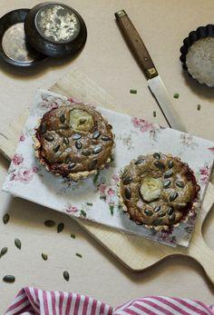 Tartelettes artichaut, sésame, tomates, échalotes et graines #vegan — Au vert avec Lili