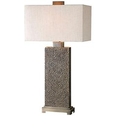 Uttermost Canfield Coffee Bronze Table Lamp - #7N171 | LampsPlus.com